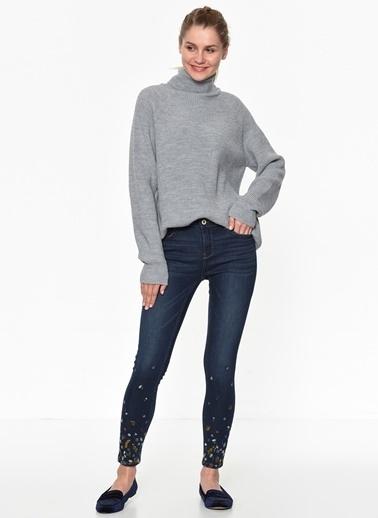 Only Jean Pantolon | Carmen - Skinny Ankle Lacivert